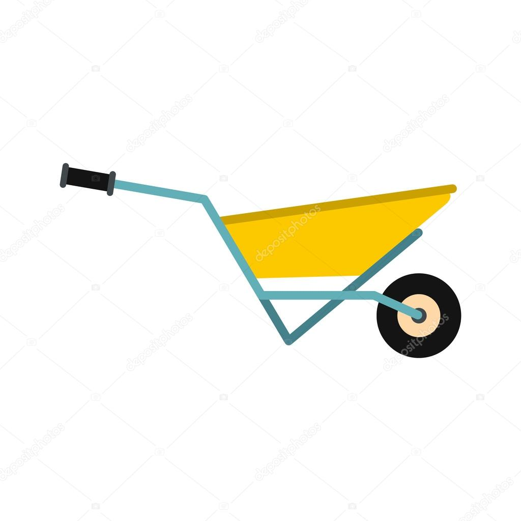 A wheelbarrow full of turf icon
