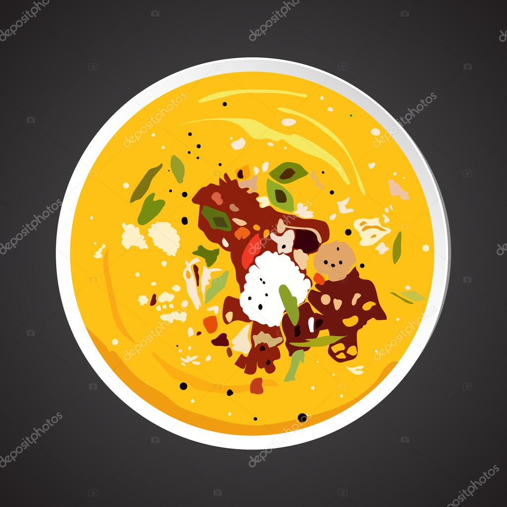 Soup illustration