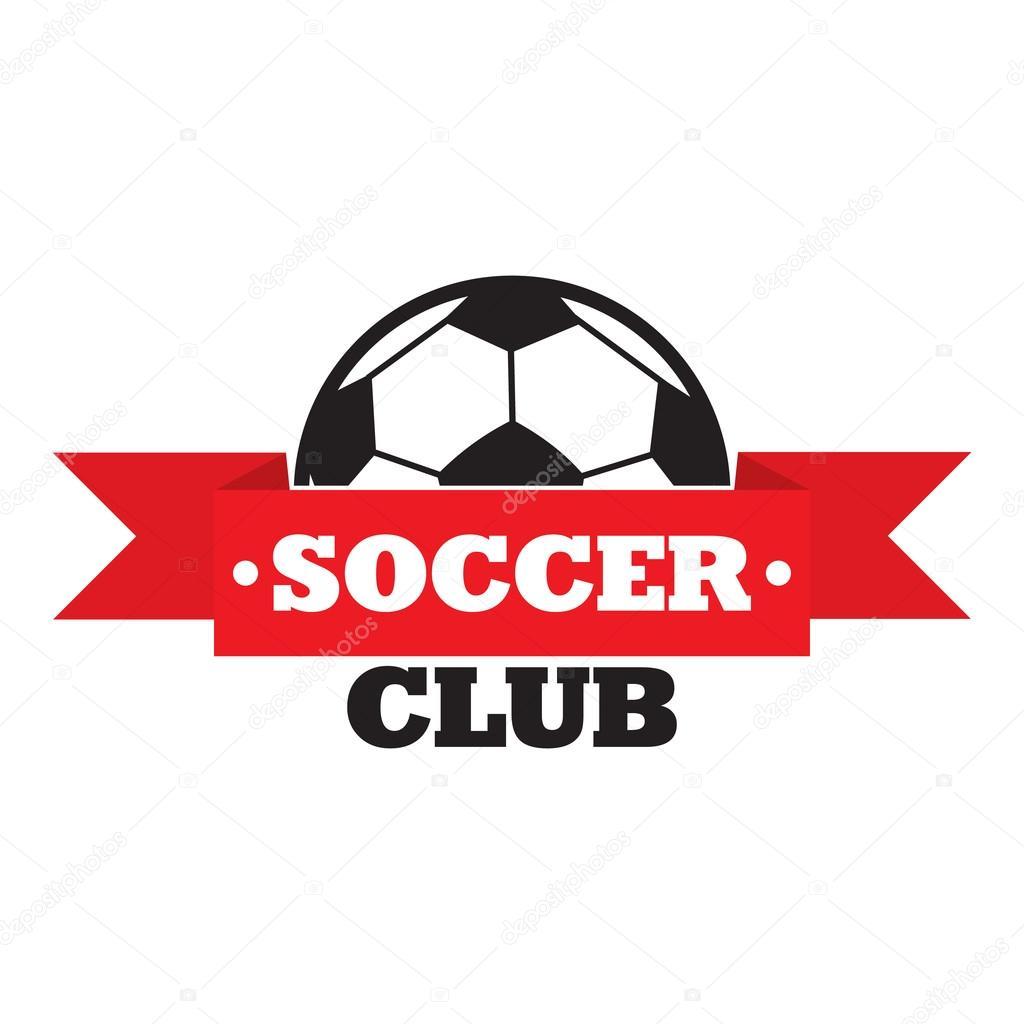 Neue Fussball Verein Zeichen Stockvektor C Juliarstudio