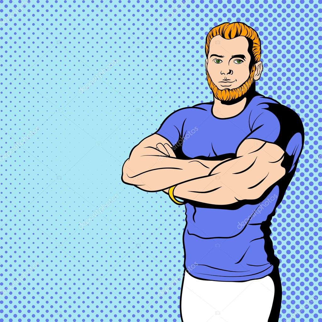 Fitness instructor comics