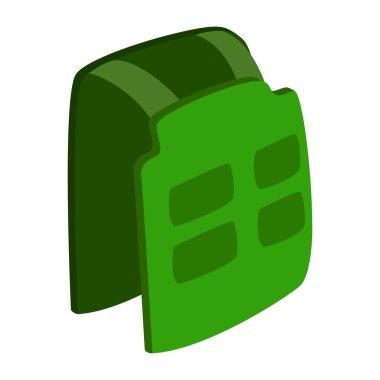 Vest isometric 3d icon