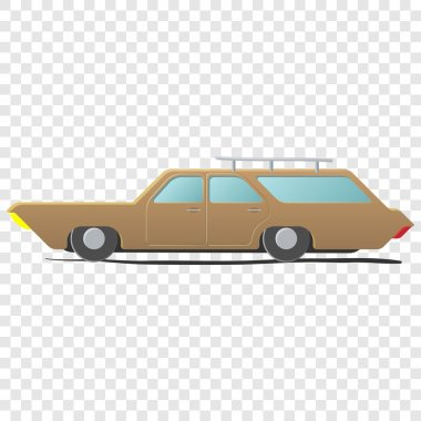 Station wagon - cartoon car