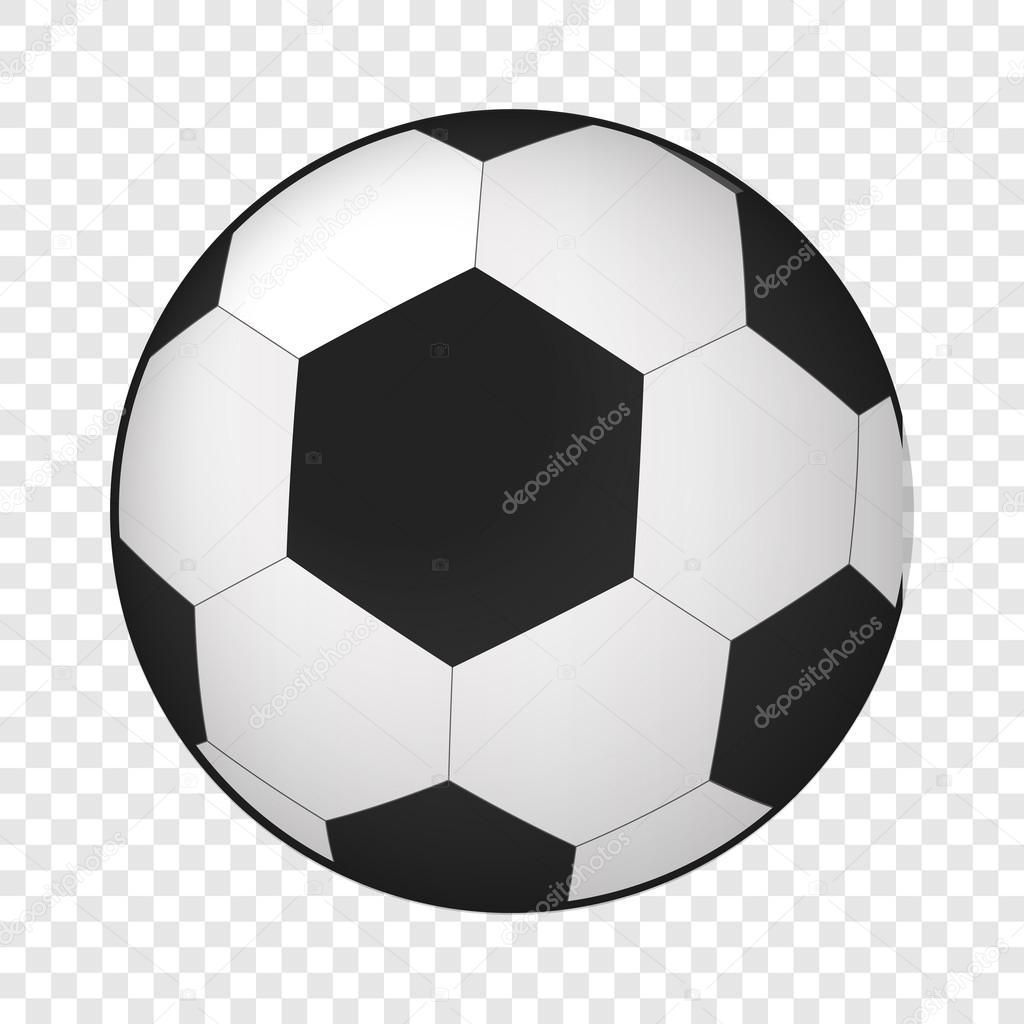 1c2d94202a2c9 Icono 3d isométrico de la bola del fútbol — Vector de stock