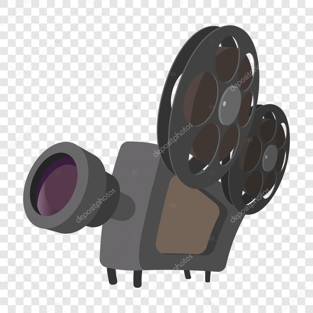 Icône de dessin animé de caméra cinéma — Image vectorielle ...