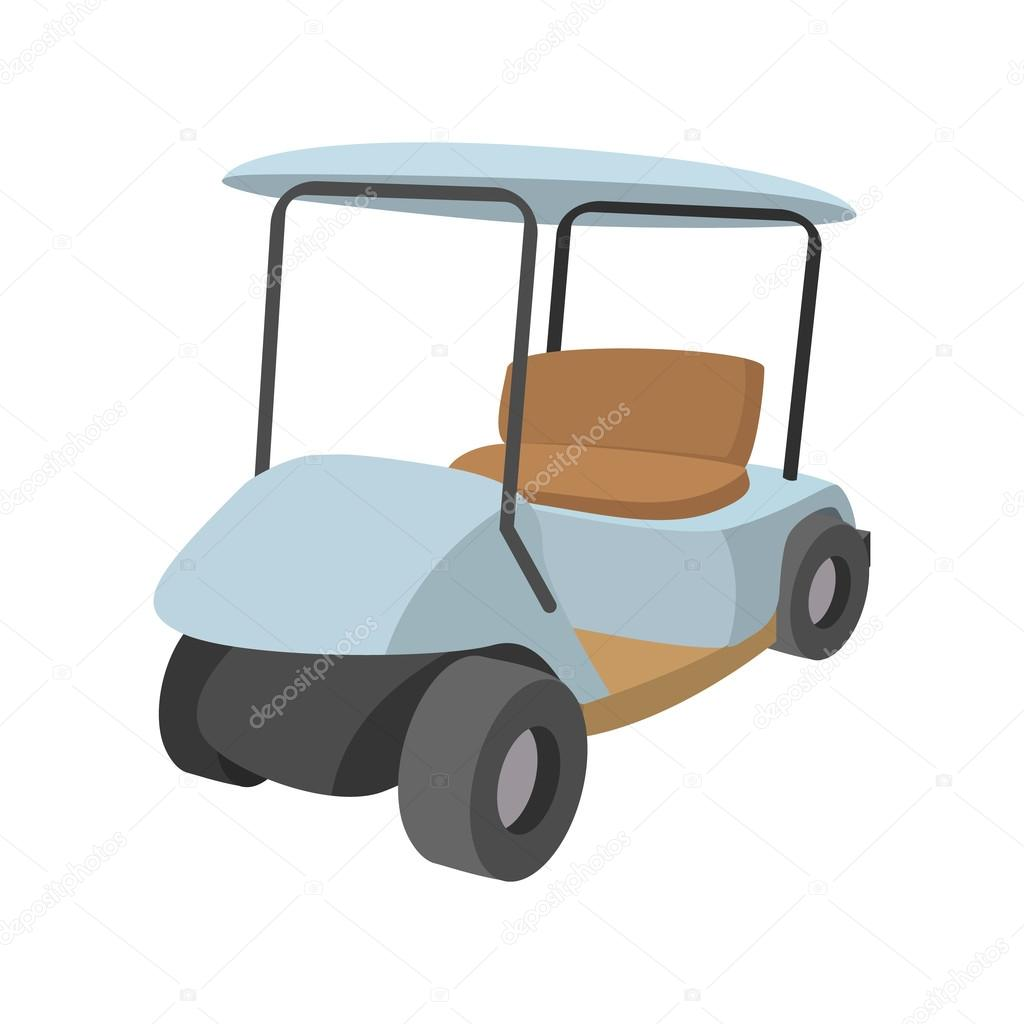 Golf Car Cartoon Icon Stock Vector C Juliarstudio 98054830