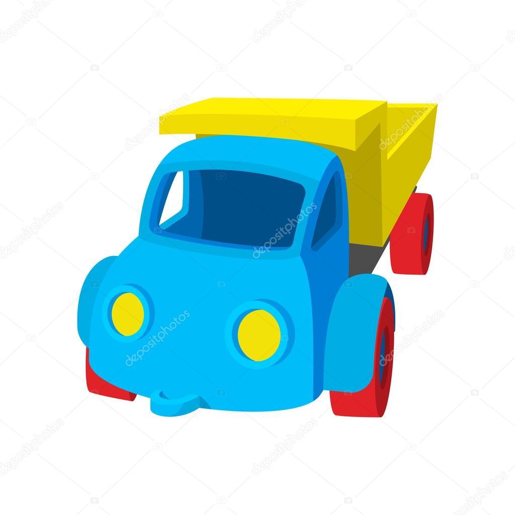 Fotos Carros De Juguete Icono De Dibujos Animados De Carro De