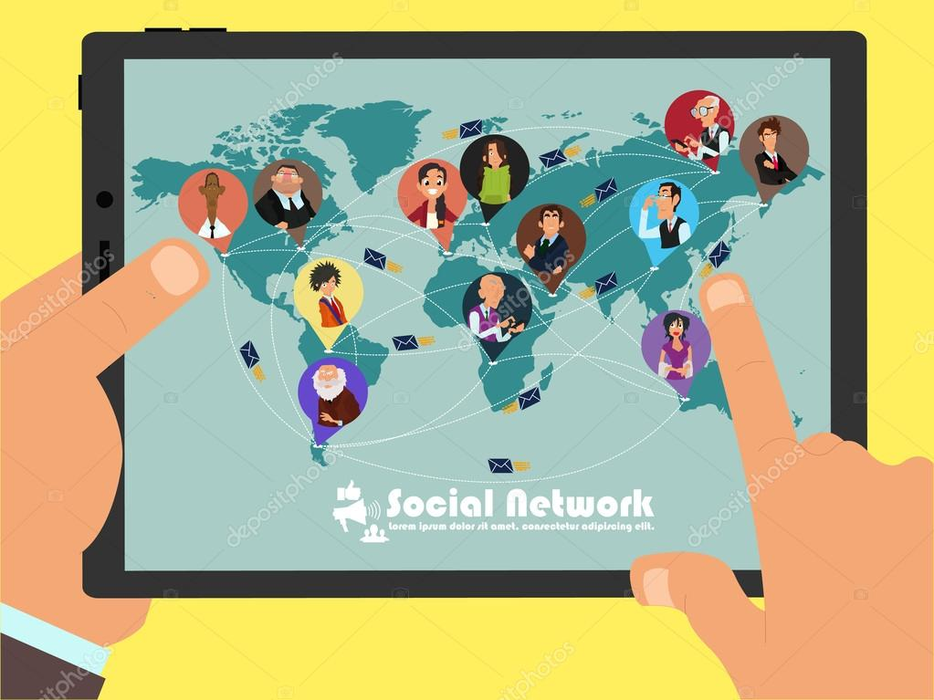 socializing through social network Socializing your ceo iii: with 68% of ceos engaging through their company pages and social network usage has now hit a record high.