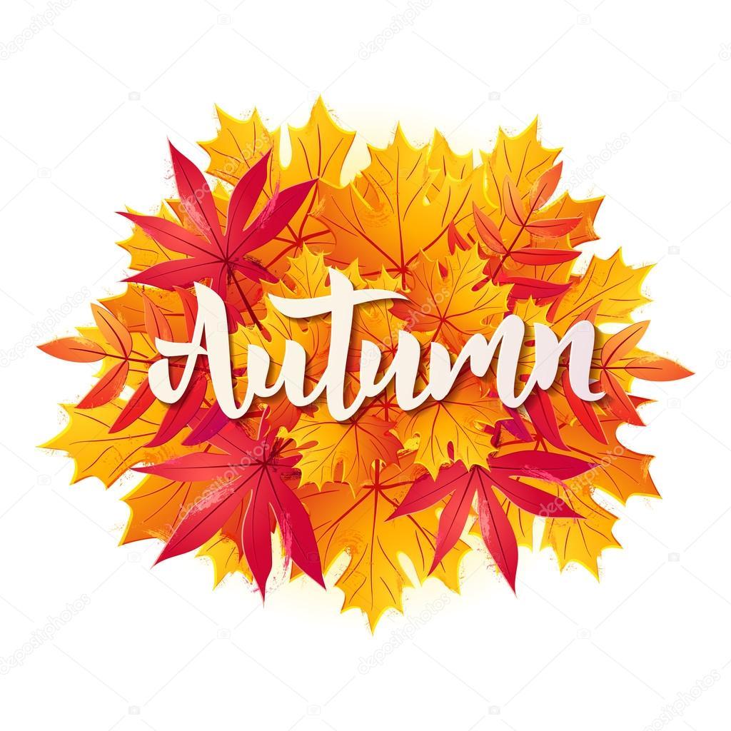 картинки осень с надписью осень