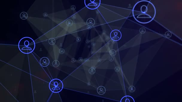 Social Networking Animation