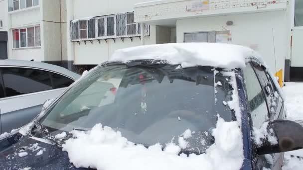 stěrače očistit přední sklo auta