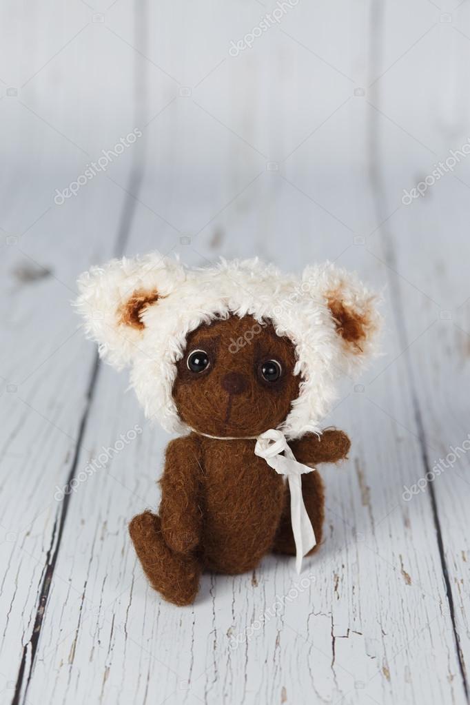 Urso de pelúcia marrom artista um tipo de — Stock Photo © artistbear ... f33feca8745c4