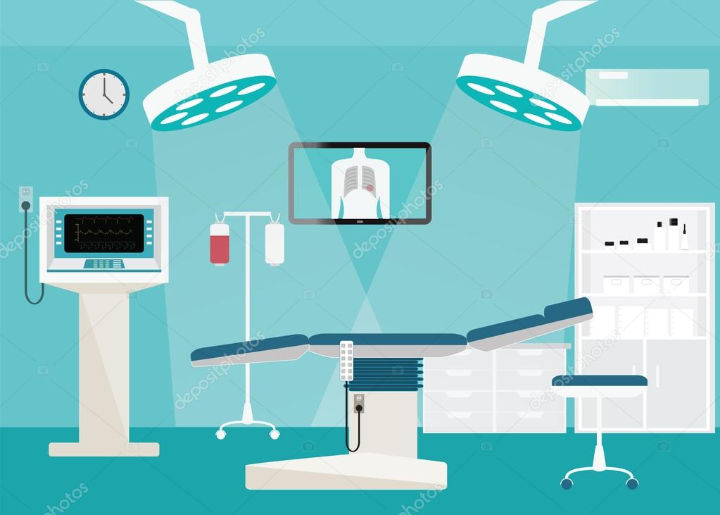 Cartoon Pictures Of Hospital Rooms