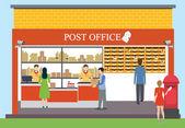 poštovní úřad návrh