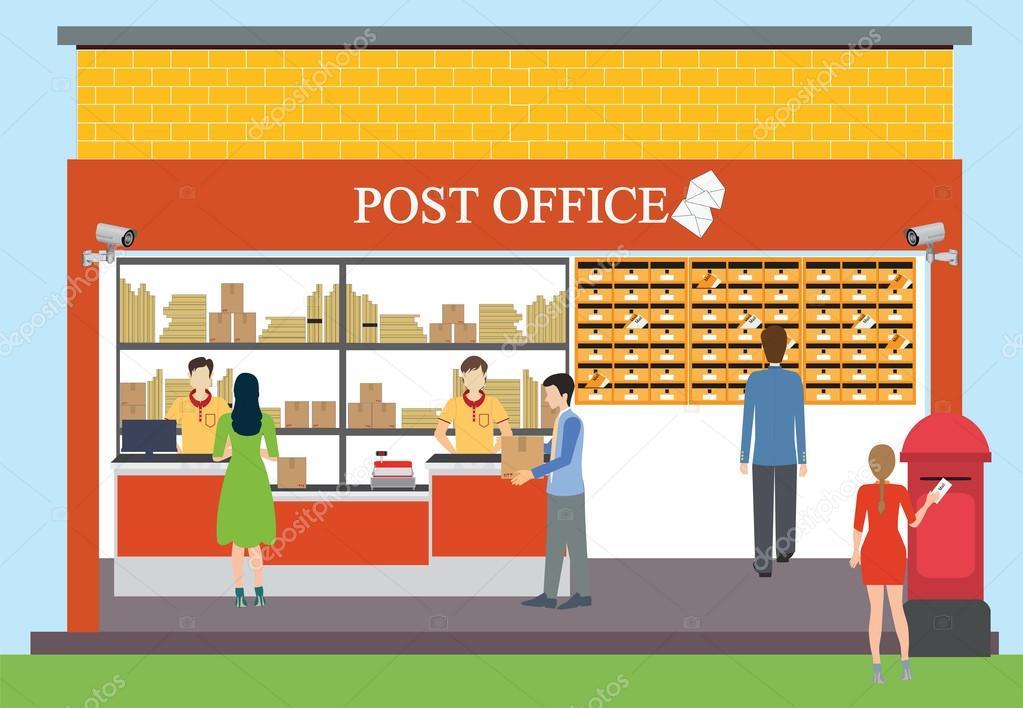 Dise o de oficina de correos archivo im genes for Oficina de correos parla