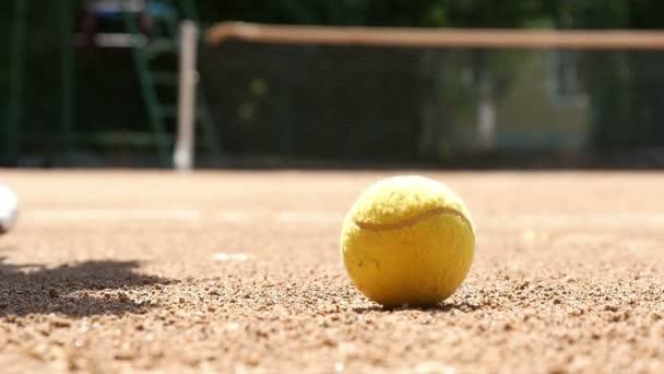 Tenisák na soudu Zpomalený pohyb