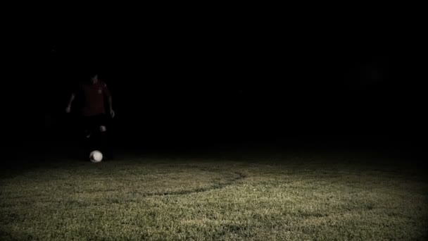 Fotbalový hráč nohy v akci zpomalené 2