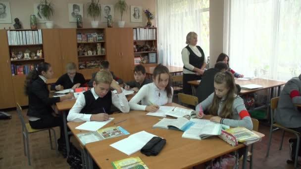 A tanulság az iskolában tanulók