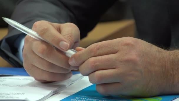podnikatel, práce s dokumenty