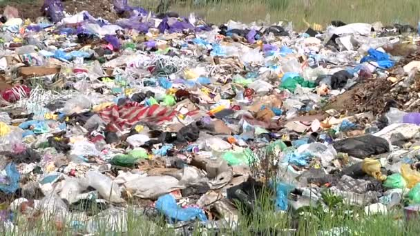 garbage dump outside of the city