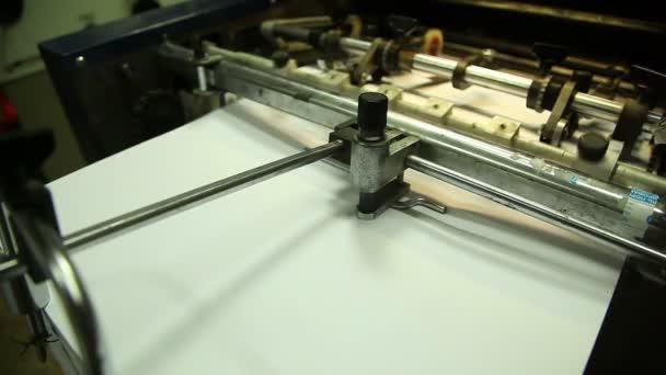 stroje v tiskárně