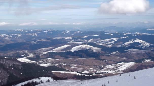 Příroda, krajina, zima hory zobrazíte Time-Lapse