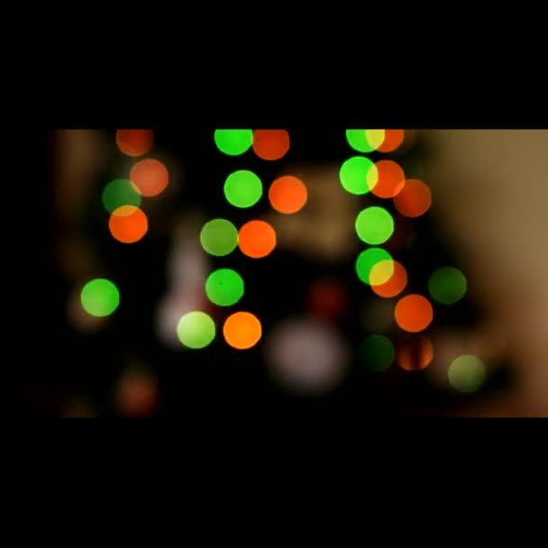 Vánoční stromeček světlo ze zaměření