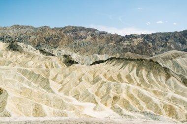 Death Valley National Park arid sand dune landscape, Zabriskie viewpoint
