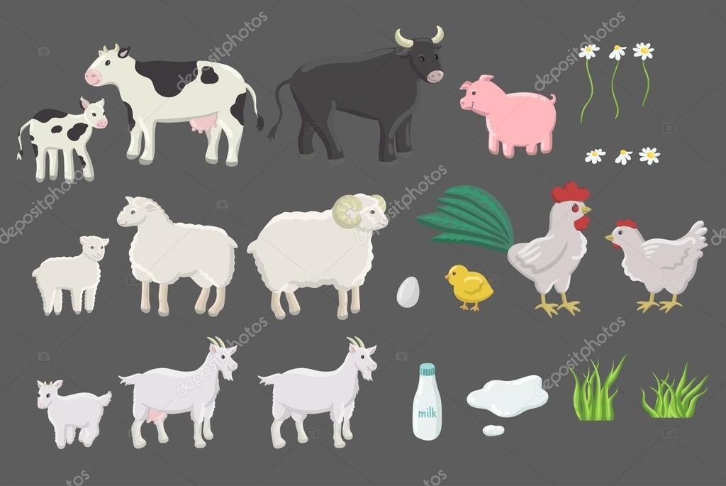Mucca divertente cartone animato scarica gratis arte vettoriale