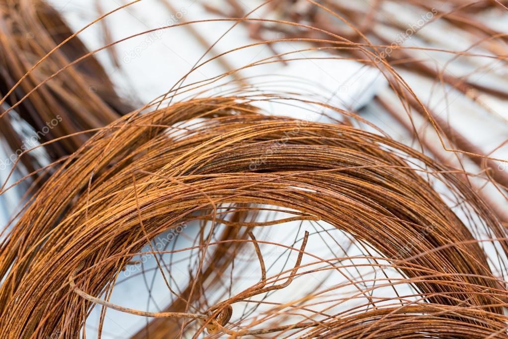 rostigen Draht — Stockfoto © pbophotogpapher #84492064