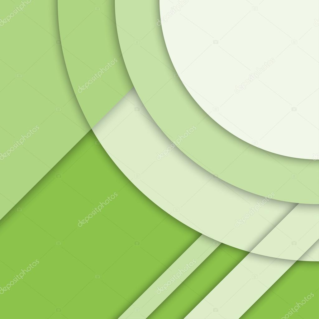 Depositphotos Stock Illustration Material Design Background Modern Green Hijau