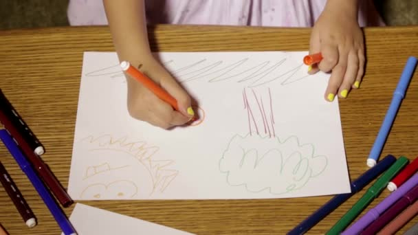 Dipinti su carta a mano per bambini