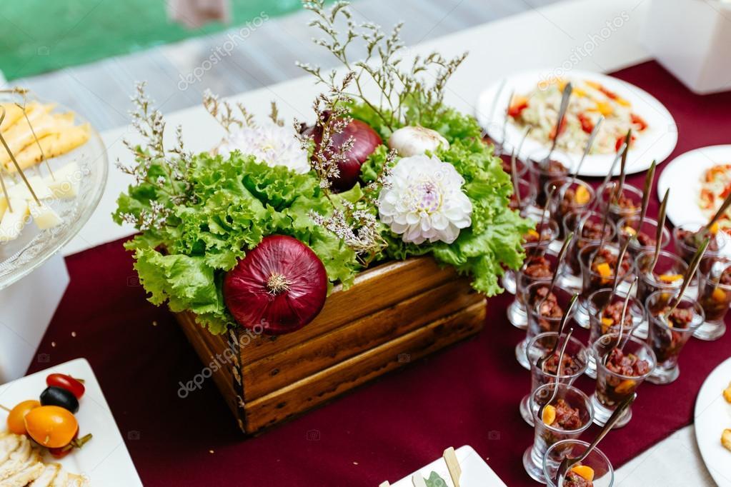 Decorado Con Frutas Y Verduras Decoración De Verduras
