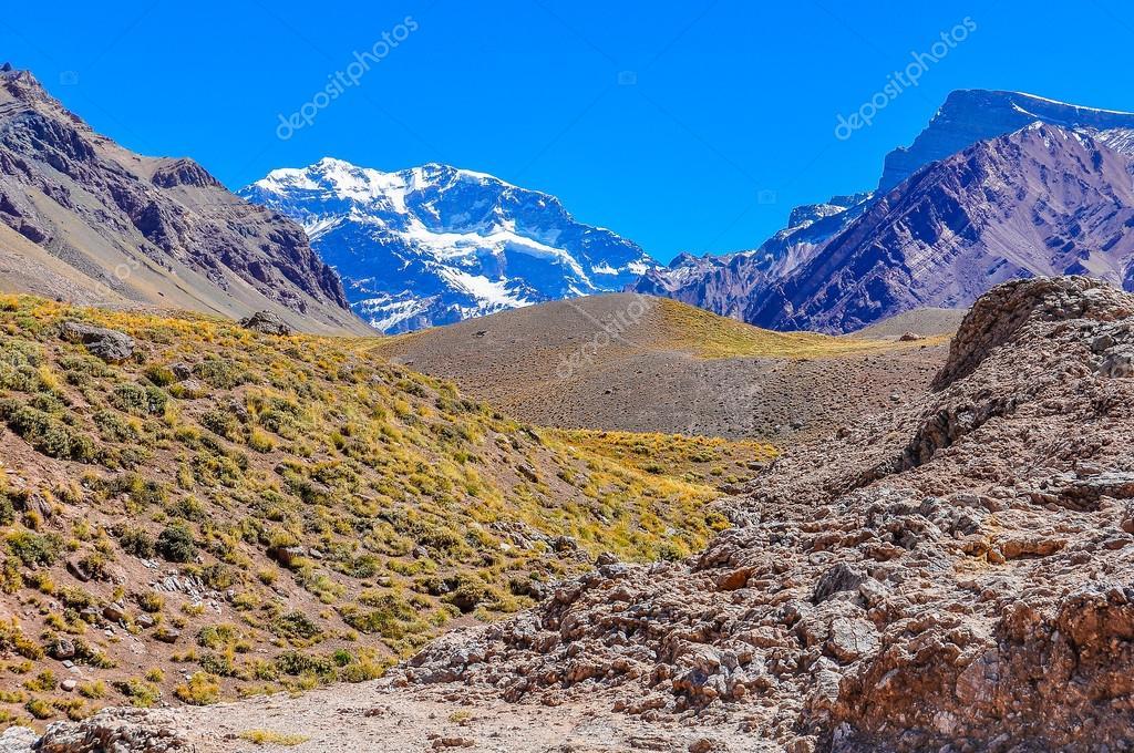 Aconcagua, The Andes around Mendoza, Argentina
