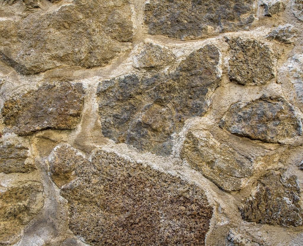 Stone Wall Rustic Texture Big Seamless Background Stock Photo