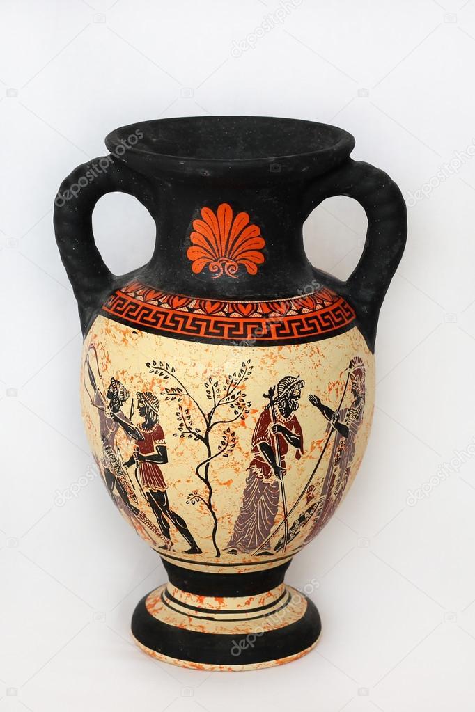 Ancient Greek Vase Stock Photo Olamiabo 84560780