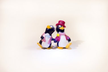Toy penguins