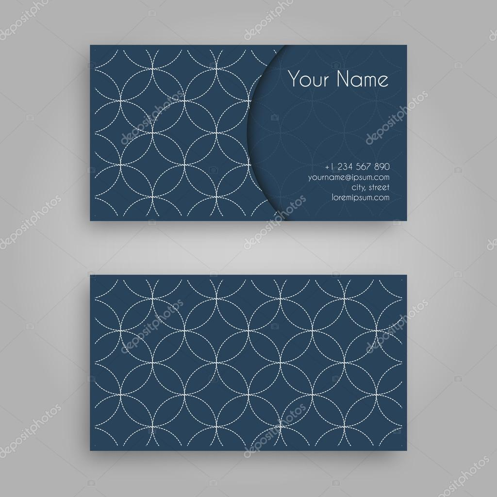 Business card template with sashiko design vintage decorative business card template with sashiko design vintage decorative elementsaditional japanese embroidery ornament with colourmoves