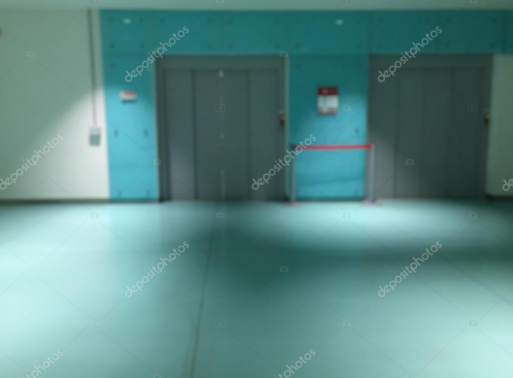 Fond De Couloir Int Rieur Floue H Pital Photo 114489100