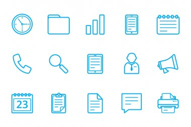 office icon line