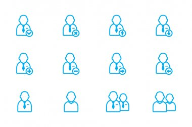 Users icon line