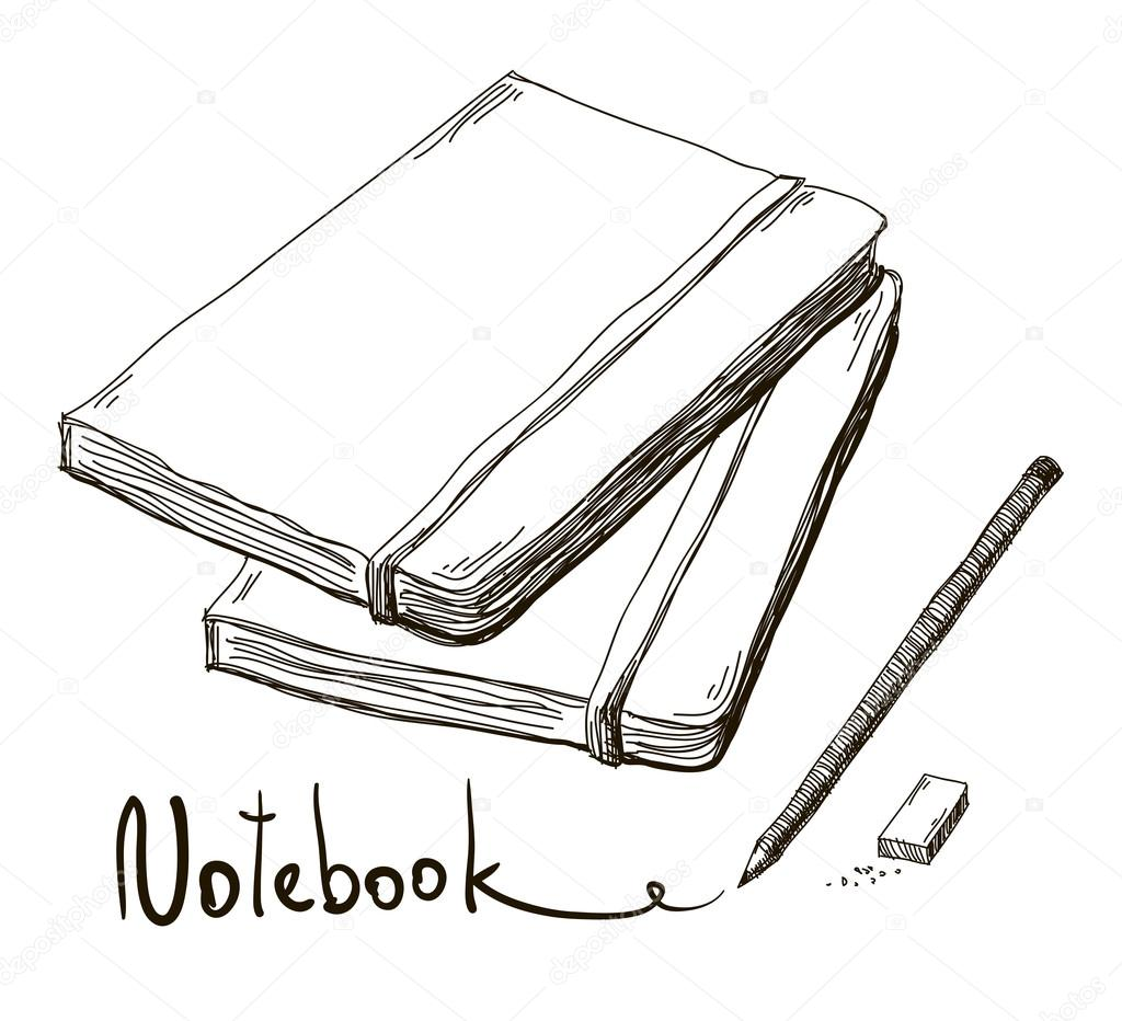 Pencil Sketch Notebook