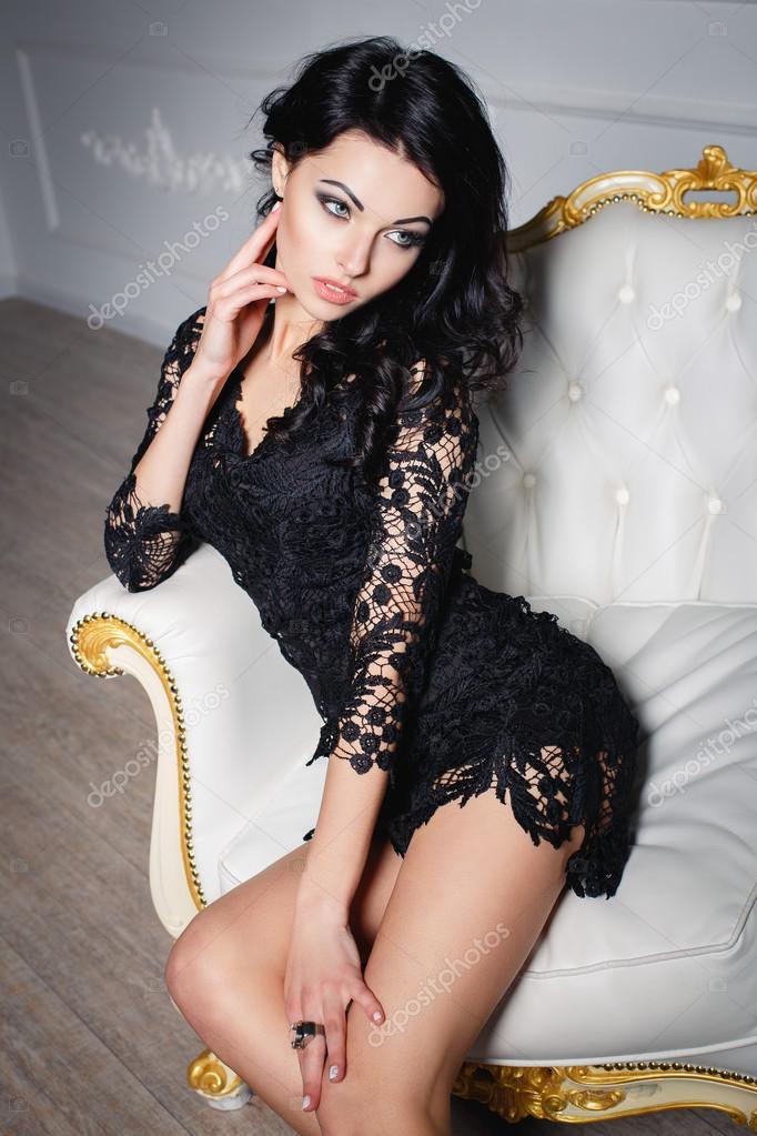 Короткое и сексуальное платье