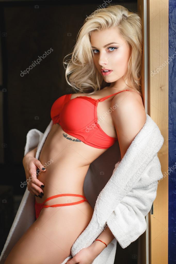 Blonde Teen Lingerie Fuck