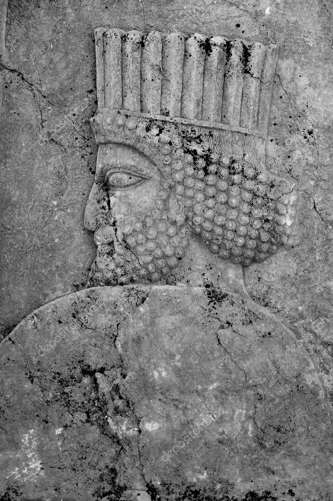 Black And White Persepolis The Magnificent Ruin Of Persian Achaemenid Empire Iran Stock Photo C Kochatornranapat 95666232