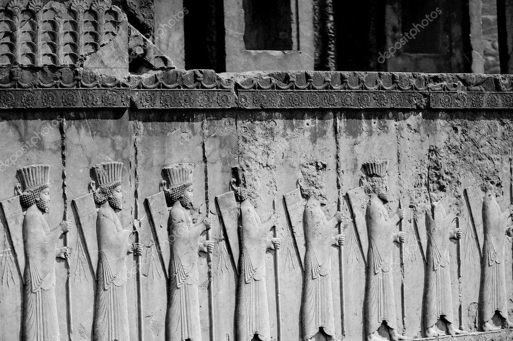 Black And White Persepolis The Magnificent Ruin Of Persian Achaemenid Empire Iran Stock Photo C Kochatornranapat 95666250