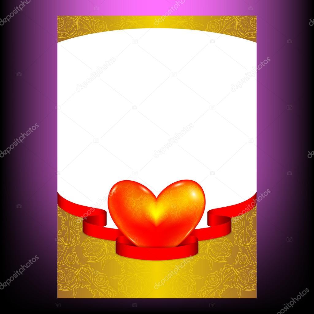 Vorlage Grusskarte Fur Hochzeiten Den Valentinstag Fur Verliebte