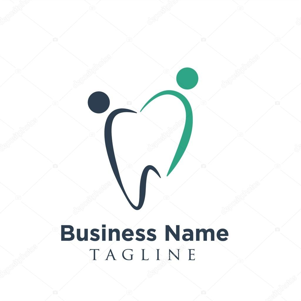 Dentist Dental Dentistry Logo Vector