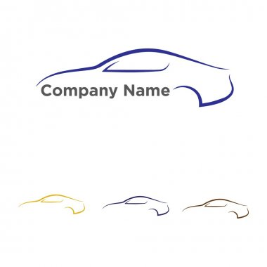 Automotive Car Racing Vector Logo