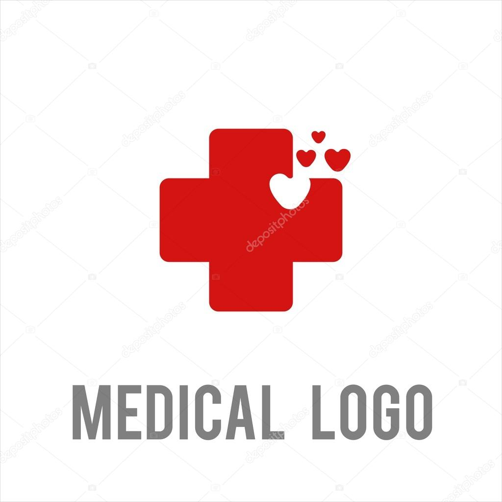 medical health hospital logo stock vector prili 95090224