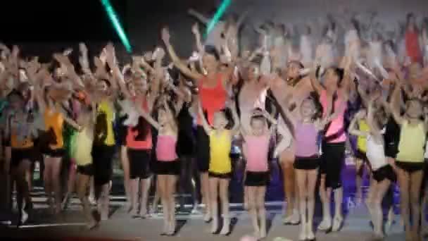 Togliatti,Russia,June 20,2015 :Gymnastics festivale